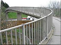 TQ5571 : Footbridge over M25 by David Anstiss