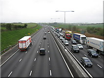 TQ5571 : M25 to Junction 3 by David Anstiss