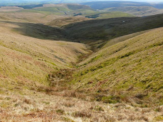 Tarddiad yr Afon Gwy / Source of the River Wye
