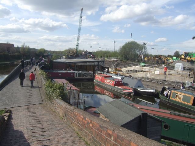 Caggy's Boatyard -Birmingham Canal (New Main Line)