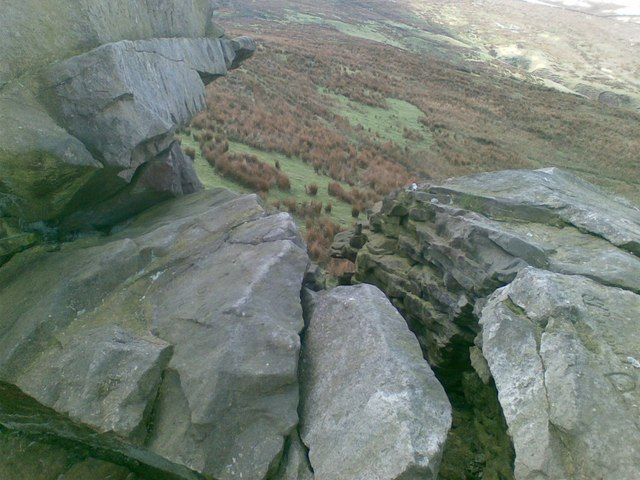 View through the cragstones