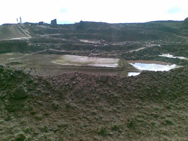 Waddington fell quarry
