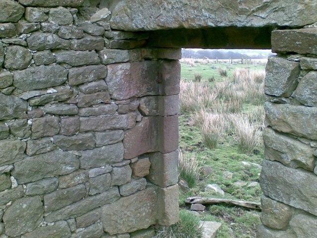 Detail of barn door, workmanship.