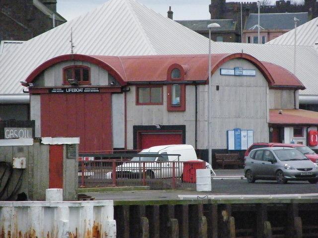 Arbroath Lifeboat Shed