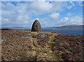 NG1953 : The MacCrimmon memorial cairn by John Allan
