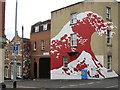 ST5973 : Street art, Hillgrove Street by George Evans
