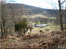 NH3214 : Dundreggan Farm in Glen Moriston by Sarah McGuire