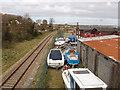 T0422 : Railway and boat yard, Wexford by David Hawgood