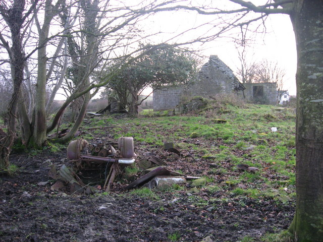 Cottage ruin at Reaghstown, Co. Louth