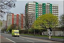 TA0828 : Great Thornton Street flats, Hull by Paul Harrop