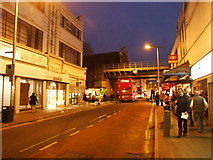 TQ3476 : Rye Lane, outside Peckham Rye station by Chris Whippet