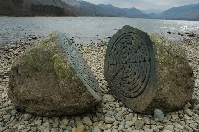 The Hundred Year Stone, Derwent Water