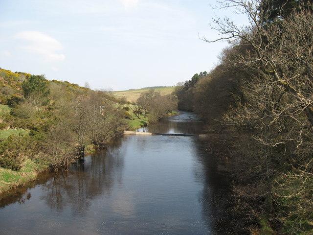 Weir at Rede Bridge