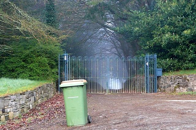Entrance at Ballylane East