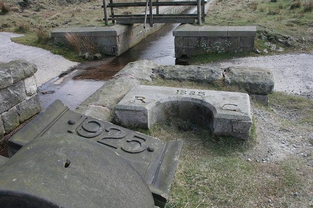 Masonry at Warland Reservoir
