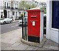 TQ2678 : Victorian Post box by PAUL FARMER