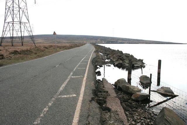 Turvin Road  Blackstone Edge Reservoir