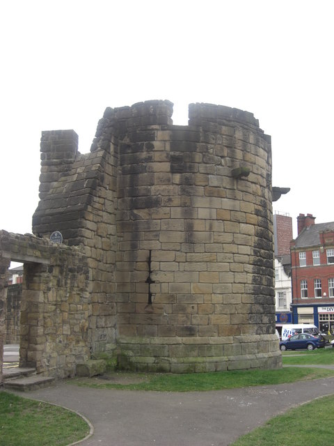 Newcastle Town Wall - Herber Tower