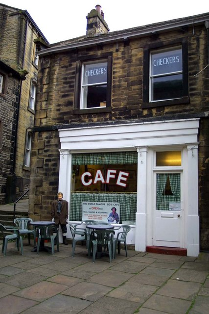 Checkers Cafe in Holmfirth