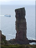 HY1700 : Old Man of Hoy with Scrabster to Stromness ferry by Steve Helmore