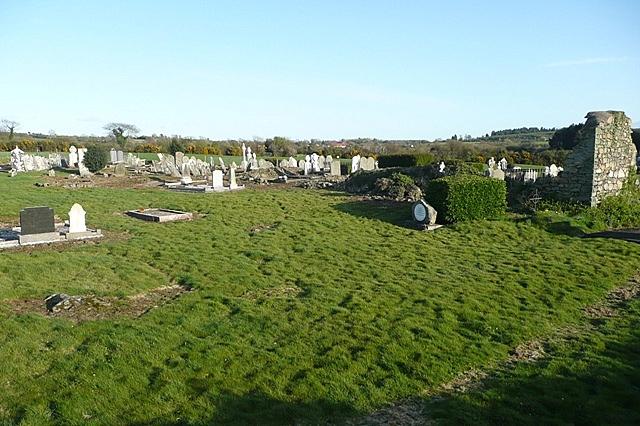 Burial ground at Carrigunane