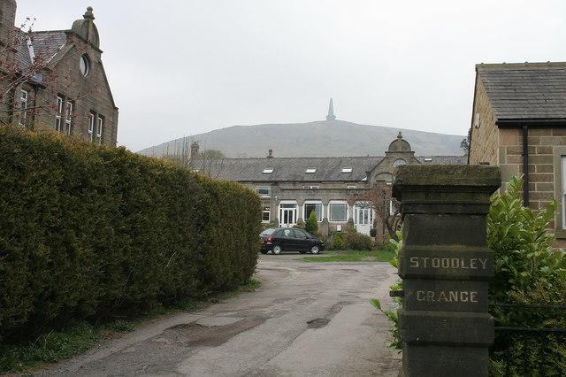 Entrance to Stoodley Grange