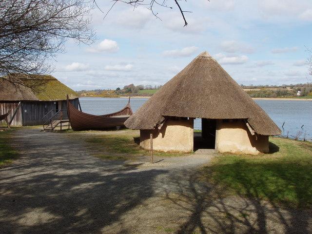 Viking boatyard and house, Irish National Heritage Park