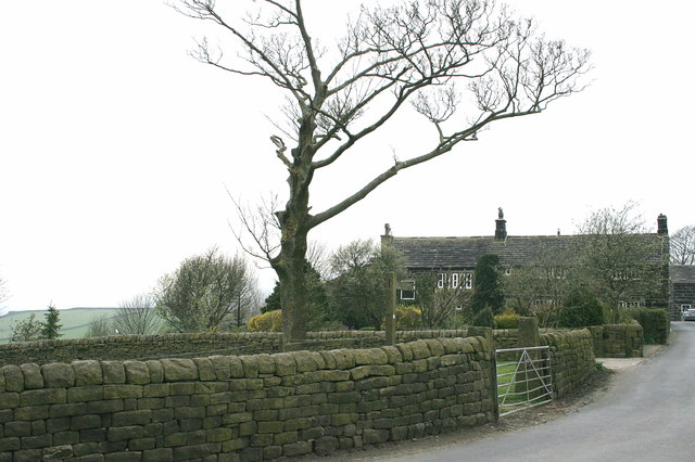 Mankinholes Farmhouse