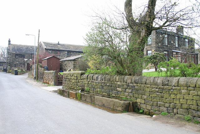Water troughs at Moore Edge