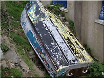 TQ7407 : Abandoned boat by Rod Bacon