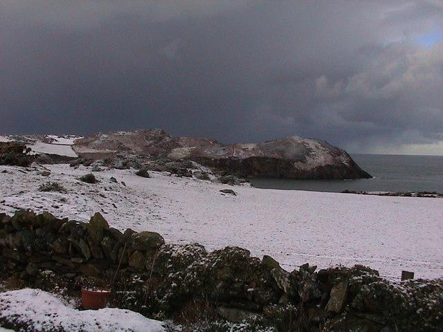 Snow Scene of Torllwyn
