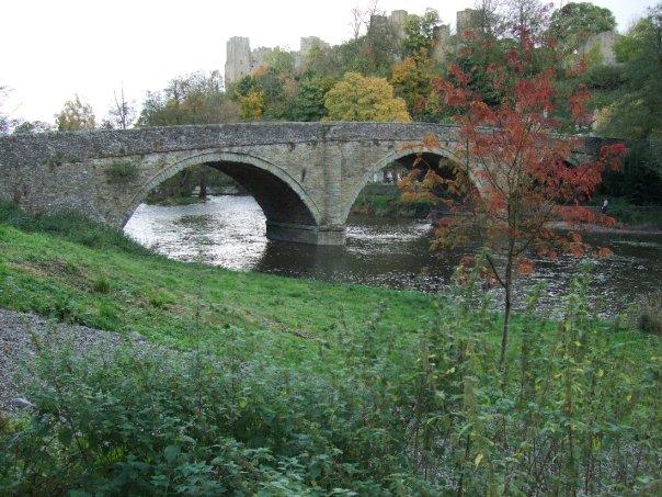 River Teme and Dinham Bridge