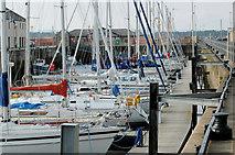NJ2371 : Lossiemouth Marina by Jim Matthews