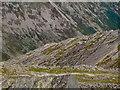 NY2406 : The Great Slab on Bow Fell by Raymond Knapman