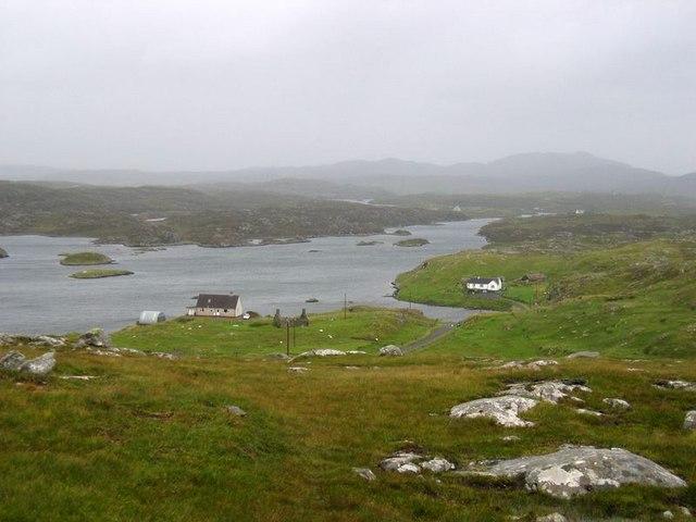 Tòb Bhalasaigh sea loch at Tobson