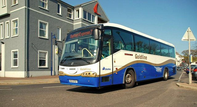 """Goldline"" express coach, Ballycastle"