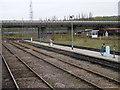 NZ2558 : Road Bridge over Tyne Marshalling Yard by SMJ