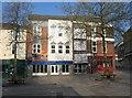 SU6351 : Market Place House & Basingstoke marketplace by Sandy B