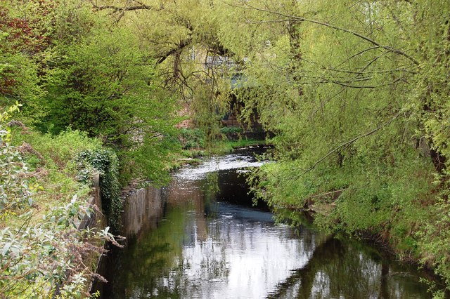 The Water of Leith at Warriston by SMJ