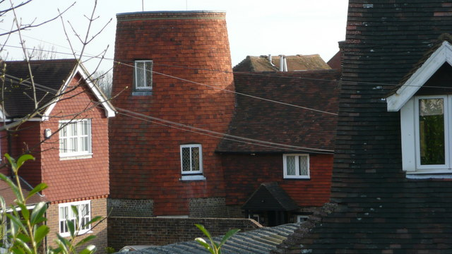 Converted mill in Mill Drive, Crowborough, East Sussex