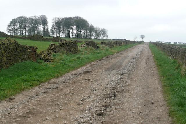 Loadshead Lane Looking West