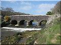 SW8842 : Sett Bridge on the River Fal by Rod Allday