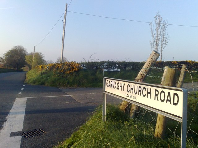 Garvaghy Church Road, Fedany