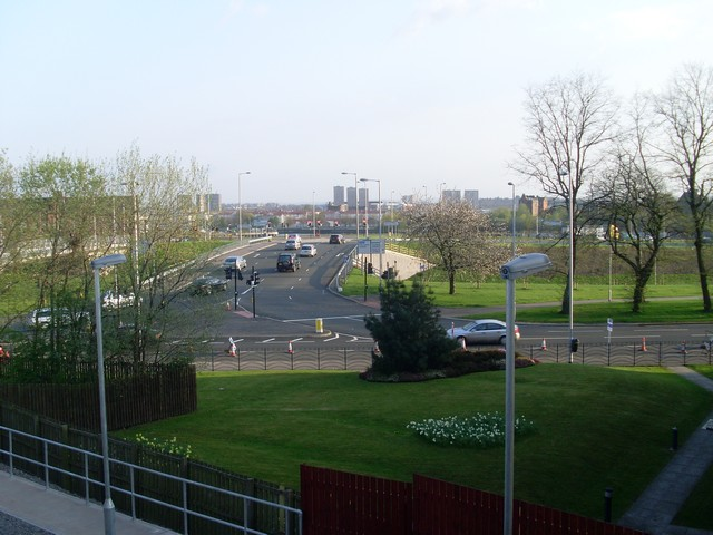 New road over the Clydeside Expressway