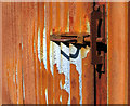 SN8292 : Rusty door bolt by Dave Croker