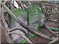 SK1134 : Gravestones in Doveridge churchyard by Peter Taylor
