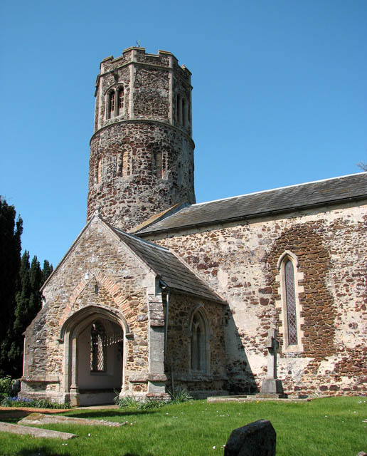 St Mary's church - tower and porch