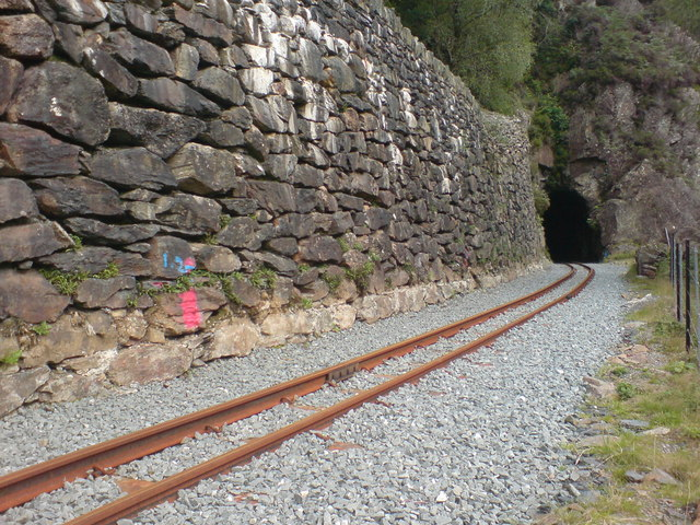 Welsh Highland Railway at Aberglaslyn