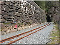 SH5946 : Welsh Highland Railway at Aberglaslyn by Kenneth Yarham