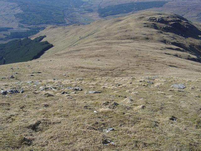 NNW ridge of Stob Coire Bhuide